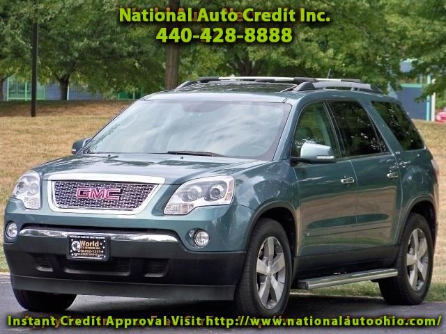 2010 GMC Acadia SLT-1 AWD. Dual Skyscape 2 panel Power Sunroof. He