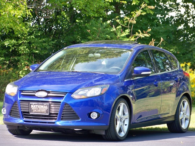 2013 Ford Focus Titanium Hatch. 1-Owner Vehicle.  Navigation & Son
