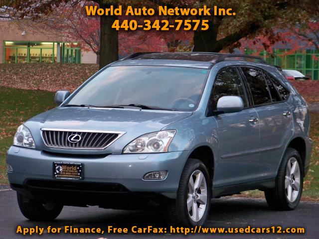 2008 Lexus RX 350 AWD. 1-Owner Vehicle. GPS Navigation.1-Owner Vehic