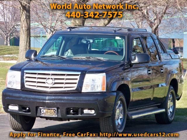 2005 Cadillac Escalade EXT EXT.4WD Sport Utility Truck. GPS Navigation & DVD