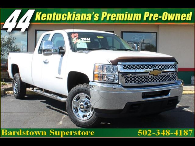 2013 Chevrolet Silverado 2500HD Ext. Cab Long Bed 4WD