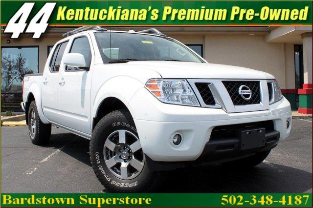 2013 Nissan Frontier PRO-4X Crew Cab 4WD