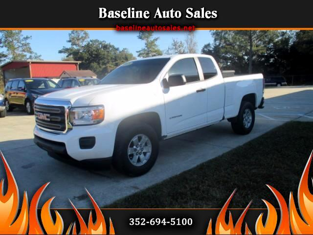 2015 GMC Canyon SL Ext Cab 2WD