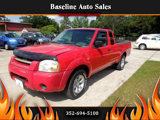 2002 Nissan Frontier 2WD King Cab I4 Manual XE