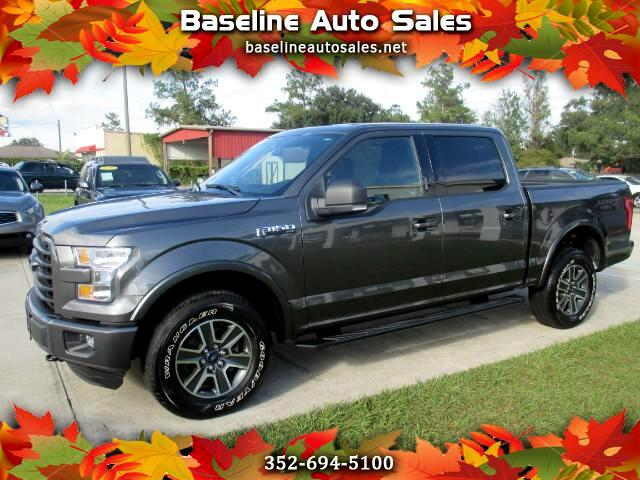 2015 Ford F-150 Sport SuperCrew 5.5-ft. Bed 4WD