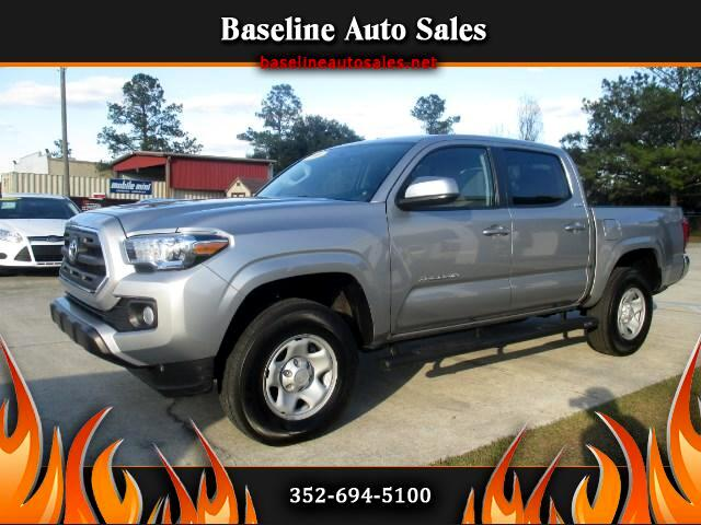 2016 Toyota Tacoma SR5 Double Cab Short Bed V6 6AT 4x4
