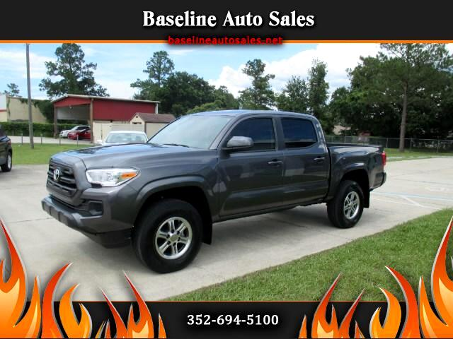 2016 Toyota Tacoma SR Double Cab Short Bed I4 6AT 2WD