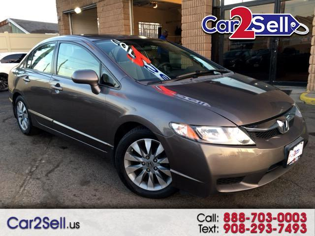 2009 Honda Civic EX Sedan AT with Front Side Airbags