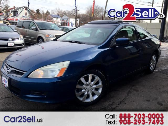 2006 Honda Accord EX Coupe with Leather and Navigation System and XM