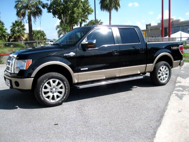 2012 Ford F-150 King Ranch SuperCrew 6.5-ft. 4WD