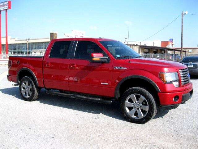 Used 2012 Ford F 150 Fx4 Supercrew 5 5 Ft Bed 4wd For