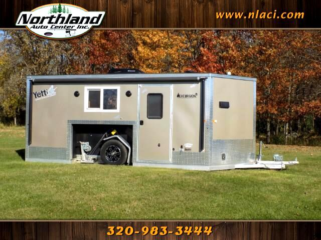 2016 Yetti Fish House 8 x 16 Excursion Full Bath