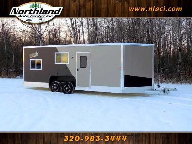 2018 Yetti Fish House C821HD 8 X 21 RAMP DOOR SHELL