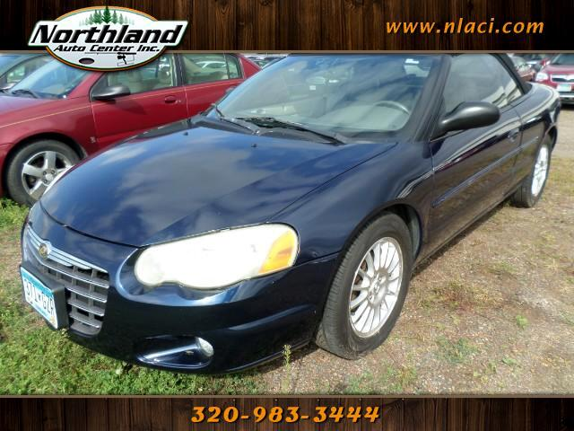 used 2005 chrysler sebring touring convertible for sale in milaca mn 56353 northland auto center. Black Bedroom Furniture Sets. Home Design Ideas