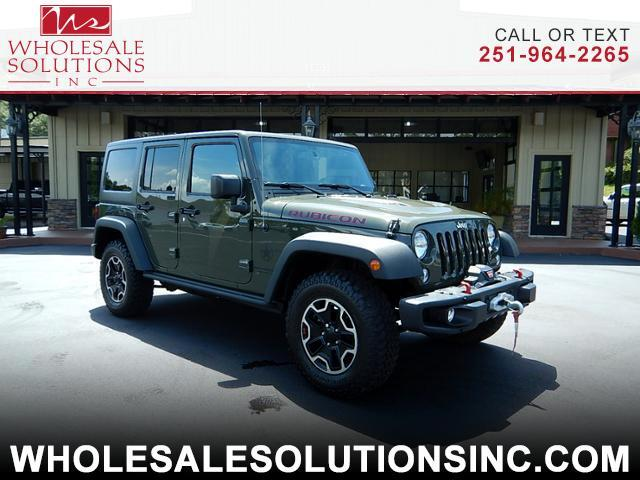 2016 Jeep Wrangler Unlimited Rubicon 4WD Hard Rock Edition
