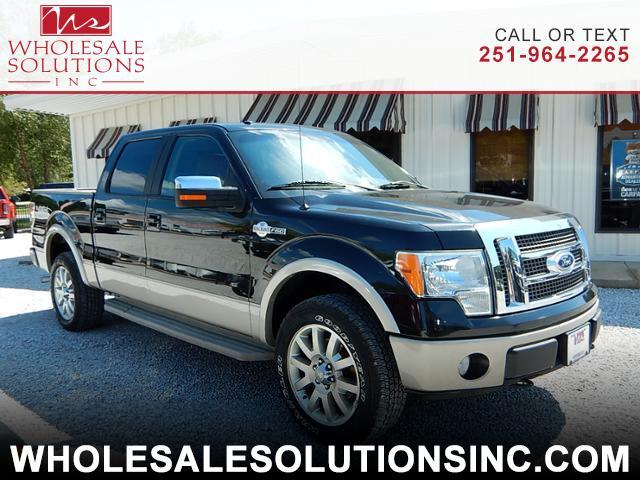 "2010 Ford F-150 4WD SuperCrew 139"" King Ranch"