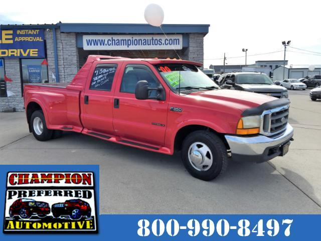 2000 Ford F-350 SD XLT Crew Cab Short Bed 2WD DRW