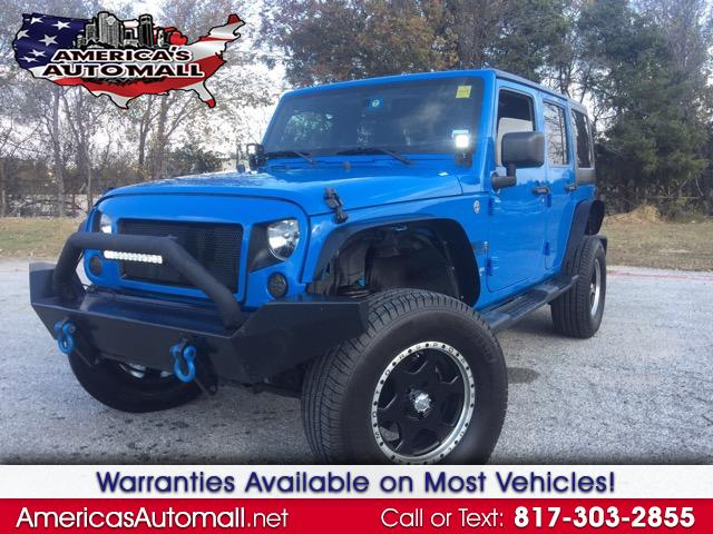 2012 Jeep Wrangler 4WD 4dr Unlimited X