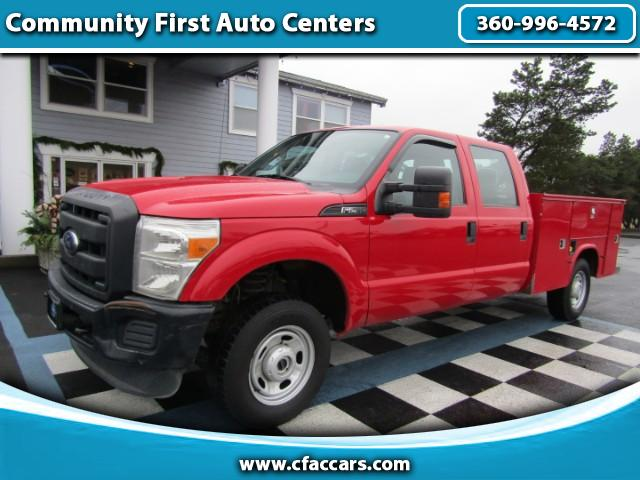 2014 Ford F-250 SD XL CREWCAB 4WD W/SERVICE BODY