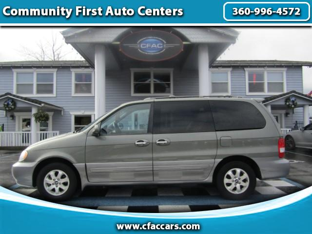 2005 Kia Sedona EX LEATHER LOADED VAN