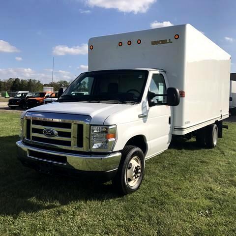 2016 Ford Econoline 16 FTCUTAWAY  BOX TRUCK
