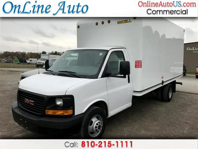 2017 GMC Savana CUTAWAY G3500 16 FT BOX