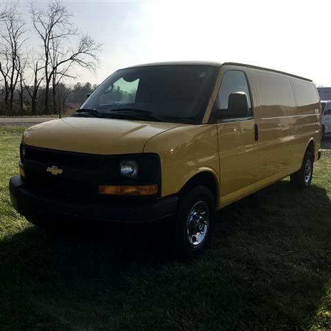 2012 Chevrolet Express EXTENDED CARGO  VAN