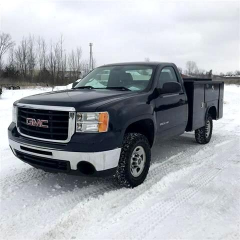 2010 GMC Sierra 2500HD 2500 HEAVY DUTY 4WD UTILITY
