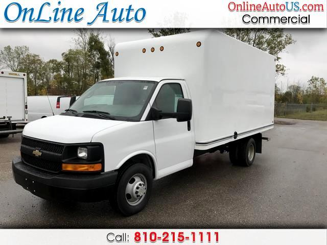 2012 Chevrolet Express 14 FT CUTAWAY BOX