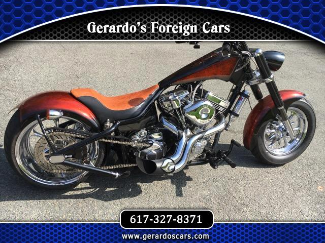 2005 Custom Motorcycle Custom Custom Ridged