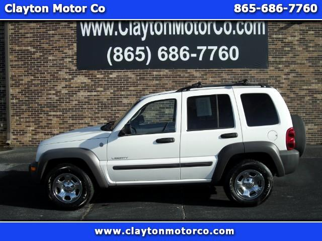 2004 Jeep Liberty 4WD 4dr Sport