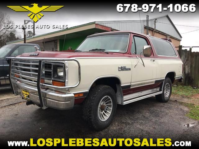 1987 Dodge Ram Charger AW-100