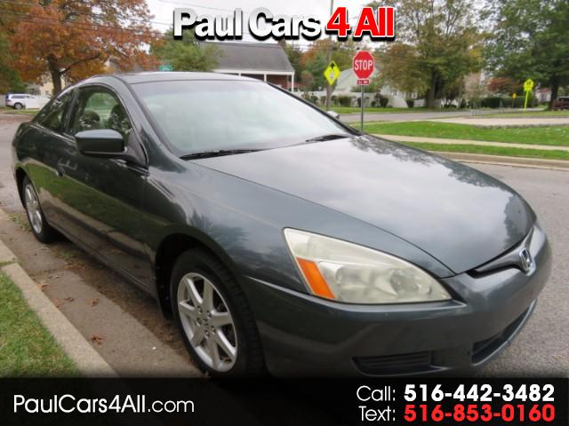 2004 Honda Accord EX V-6 Coupe AT with Navigation System and XM Radi
