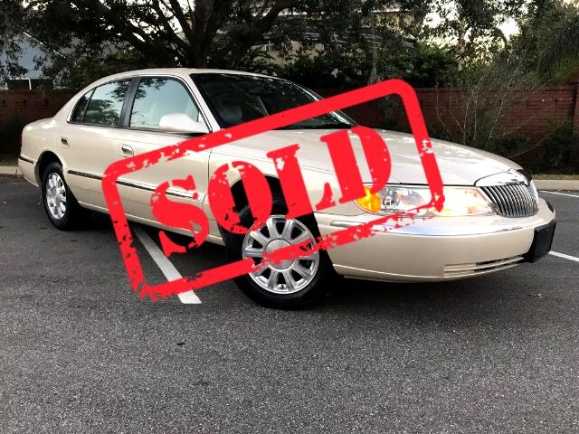 2002 Lincoln Continental Select