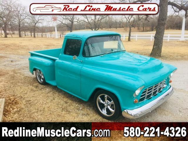 1955 Chevrolet 1/2 Ton Pickups Sport Side 117.5