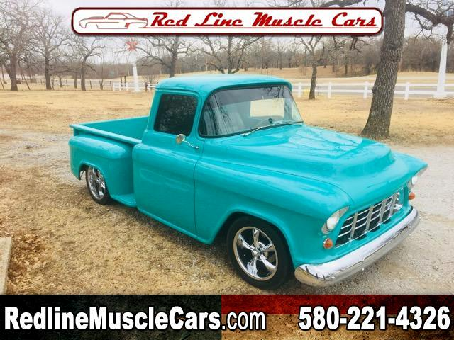 "1955 Chevrolet 1/2 Ton Pickups Sport Side 117.5"" WB 4WD"