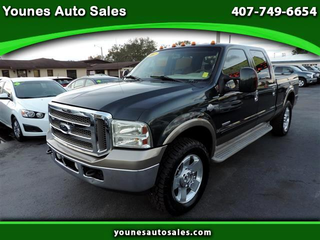 2007 Ford F-250 SD XL Crew Cab Long Bed 4WD