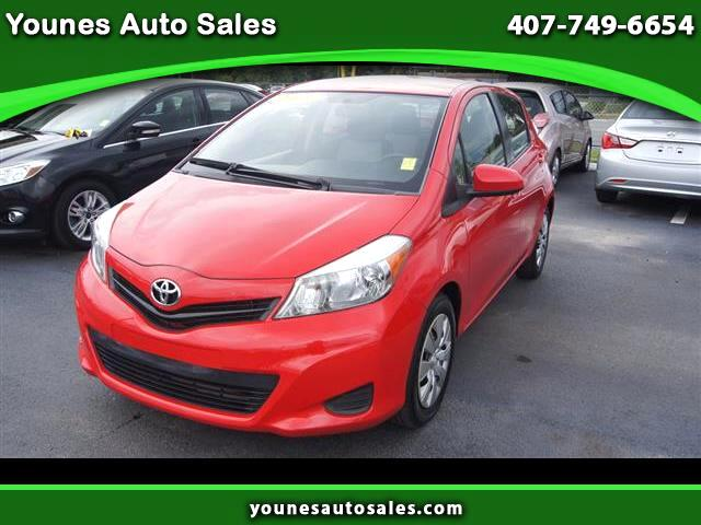 2013 Toyota Yaris L 5-Door AT