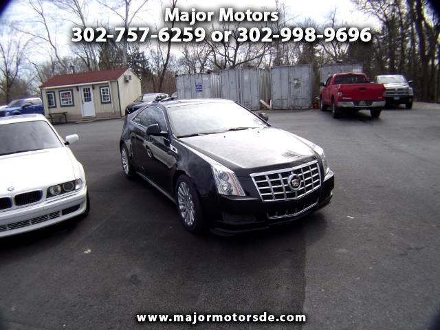 2013 Cadillac CTS Base Coupe AWD