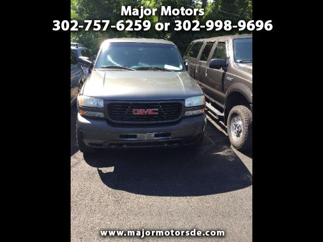 2001 GMC Sierra 2500HD SL Crew Cab Long Bed 4WD