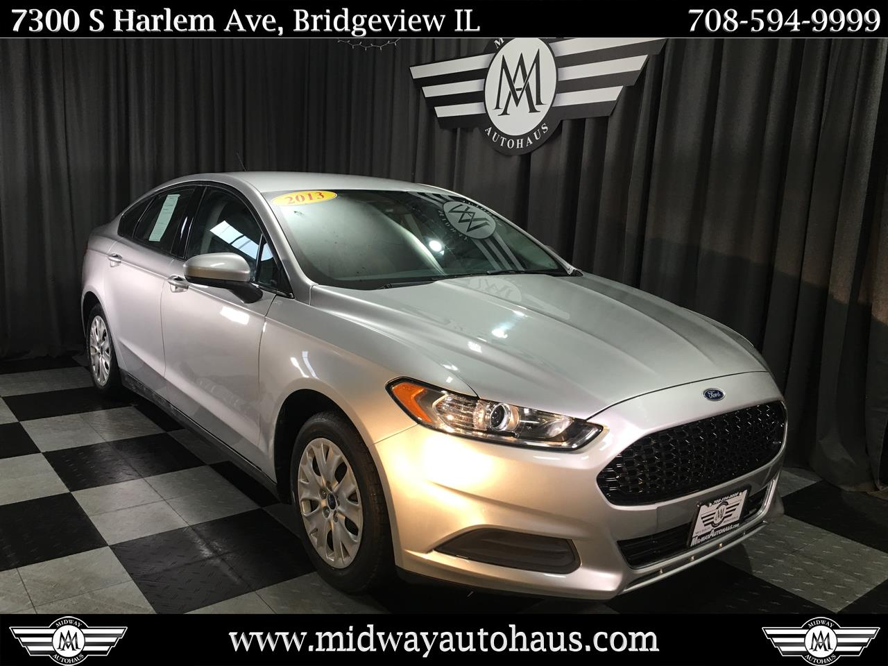 Pre-Owned 2013 Ford Fusion 4dr Sdn S FWD