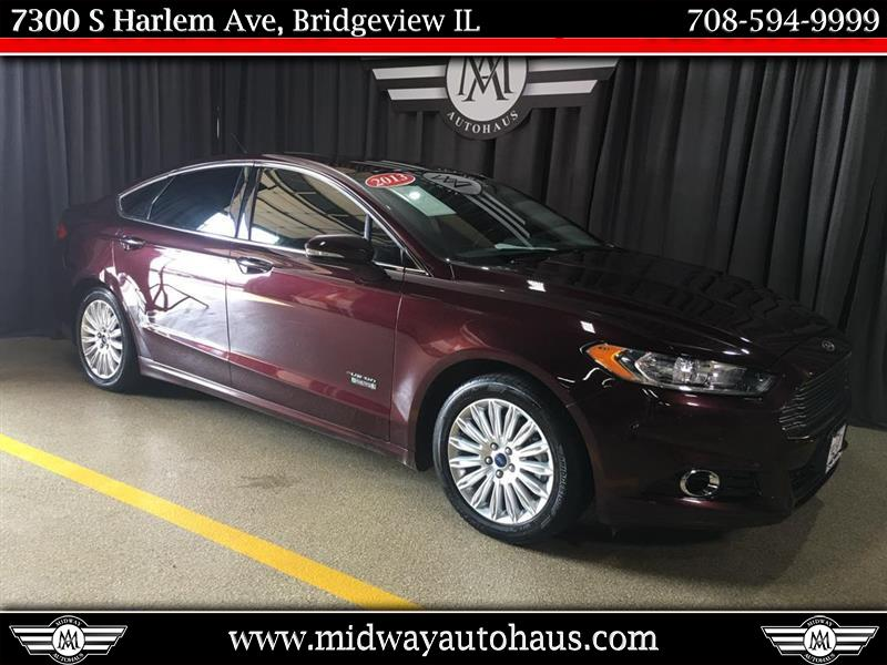 Pre-Owned 2013 Ford Fusion 4dr Sdn Titanium