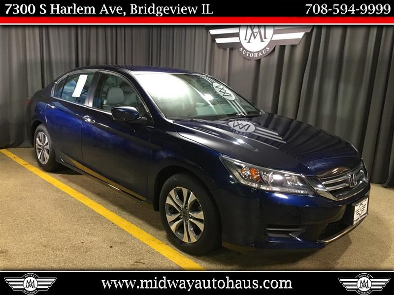 Pre-Owned 2015 Honda Accord 4dr I4 CVT LX