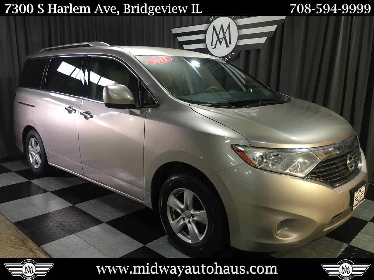 Pre-Owned 2011 Nissan Quest 4dr SV