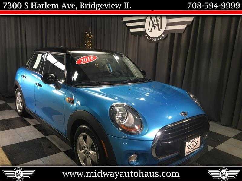 Pre Owned 2016 Mini Cooper Hardtop 4 Door 4dr Hb Hatchback In