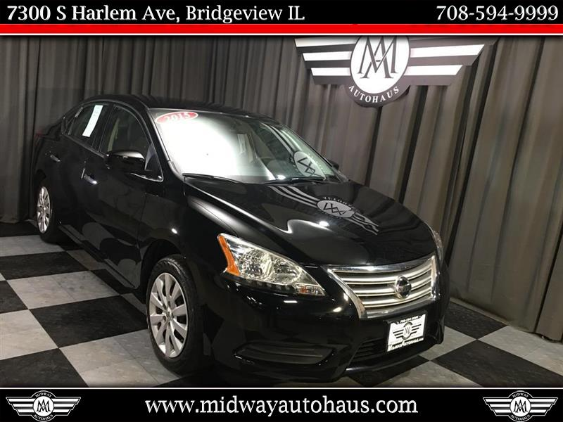 Pre-Owned 2015 Nissan Sentra 4dr Sdn I4 CVT S