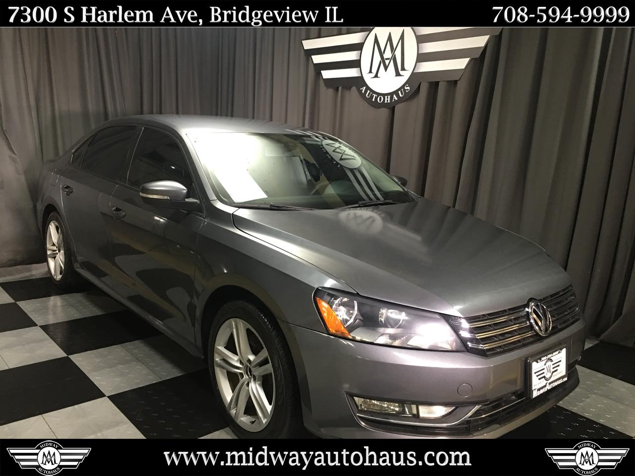 Pre-Owned 2013 Volkswagen Passat 2.5L S W/Appearance
