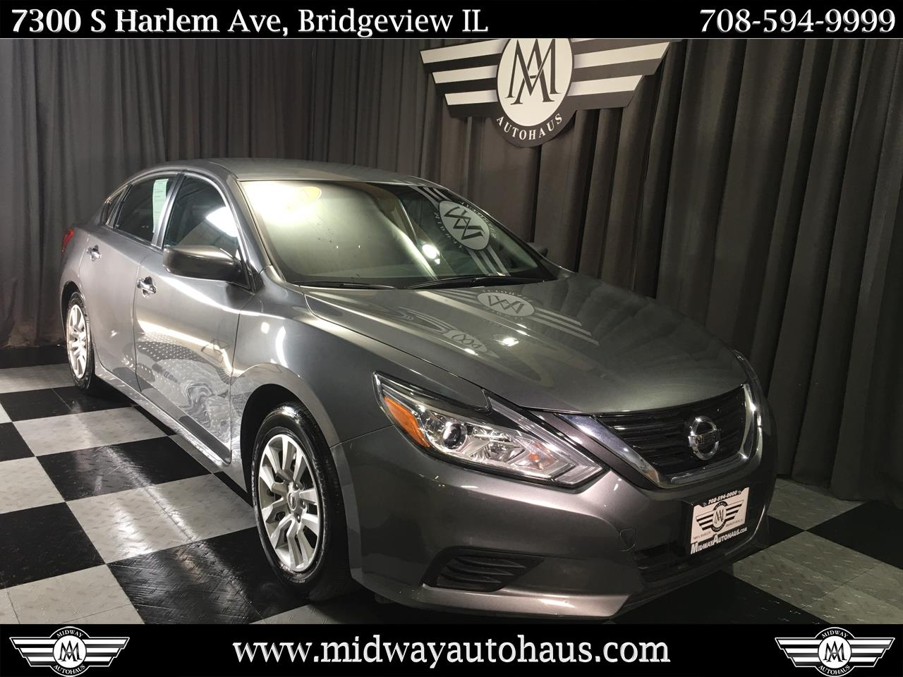 Pre-Owned 2017 Nissan Altima 2.5 S Sedan