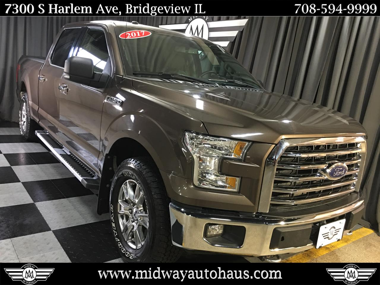 Pre-Owned 2017 Ford F-150 XL 4WD SuperCrew 5.5 ft Box