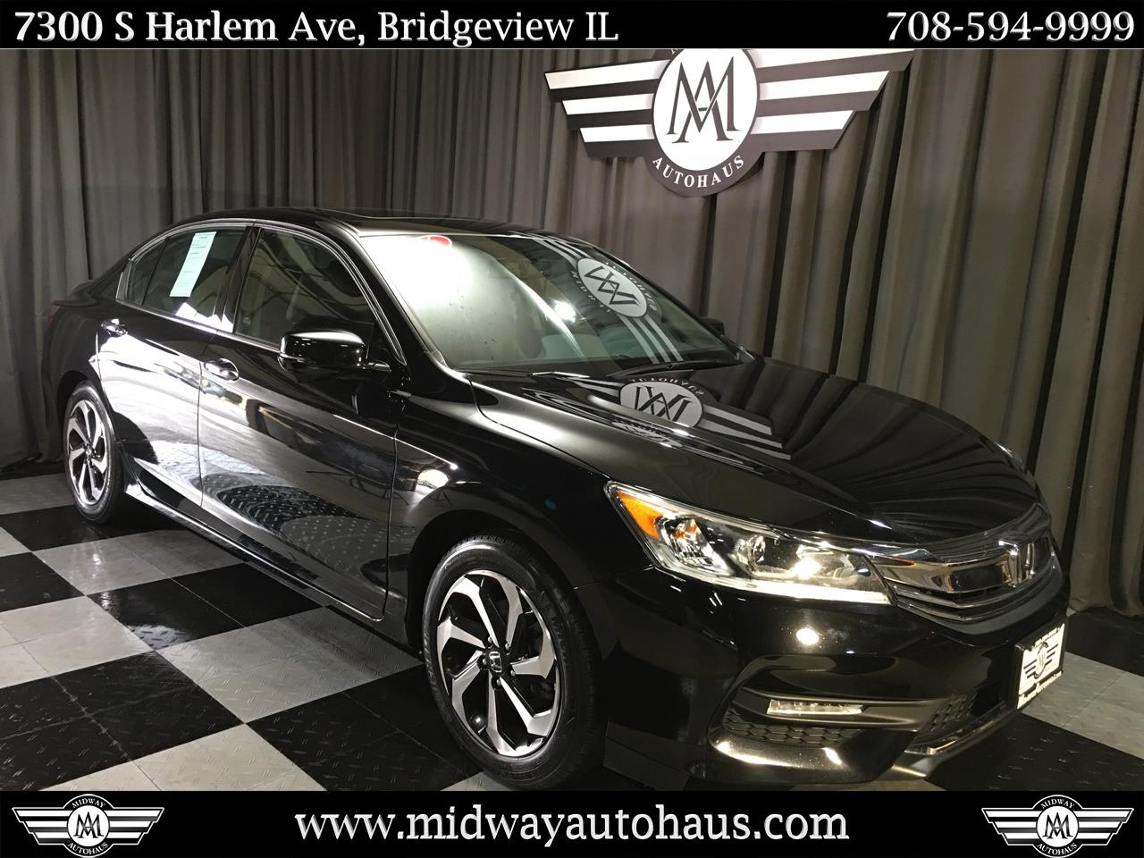 Pre-Owned 2016 Honda Accord 4dr V6 Auto EX-L